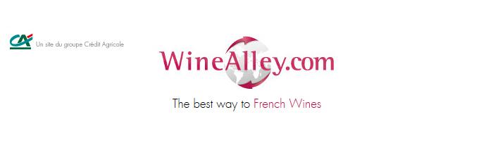 WineAlley.com - Le nouveau portail e-business des professionnels du vin